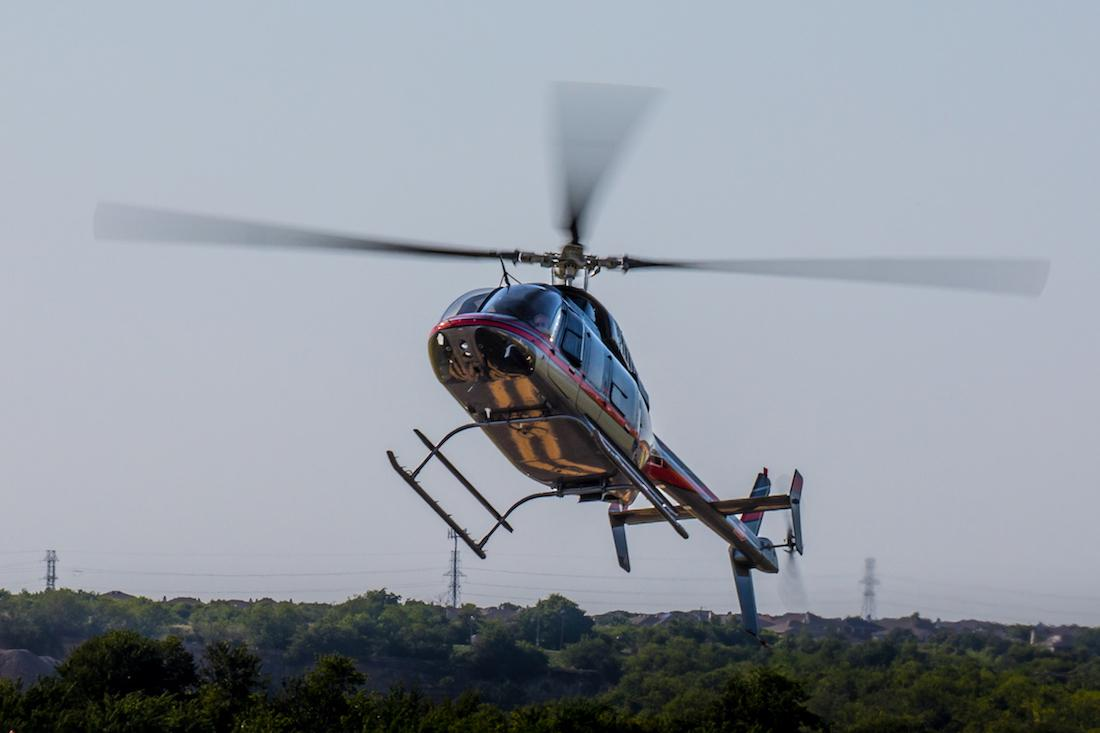 Bell 407 autorotation at Epic Helicopters