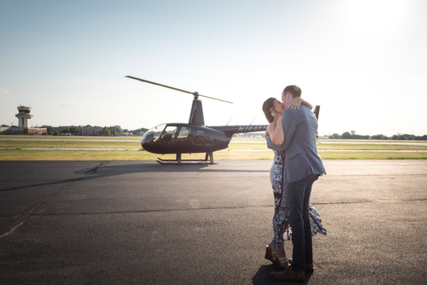 Engagement Helicopter Ride Dallas Fort Worth
